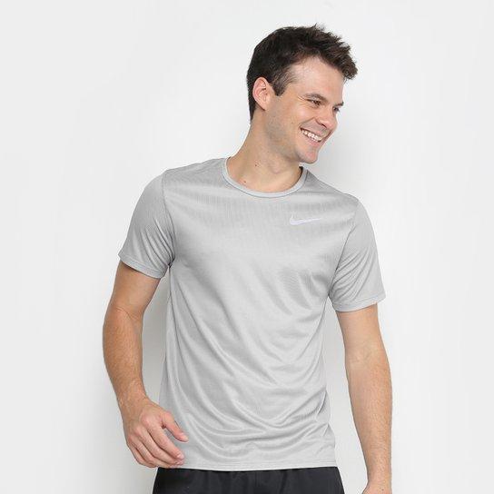 Camiseta Nike DRI-FIT Run Masculina - Grafite