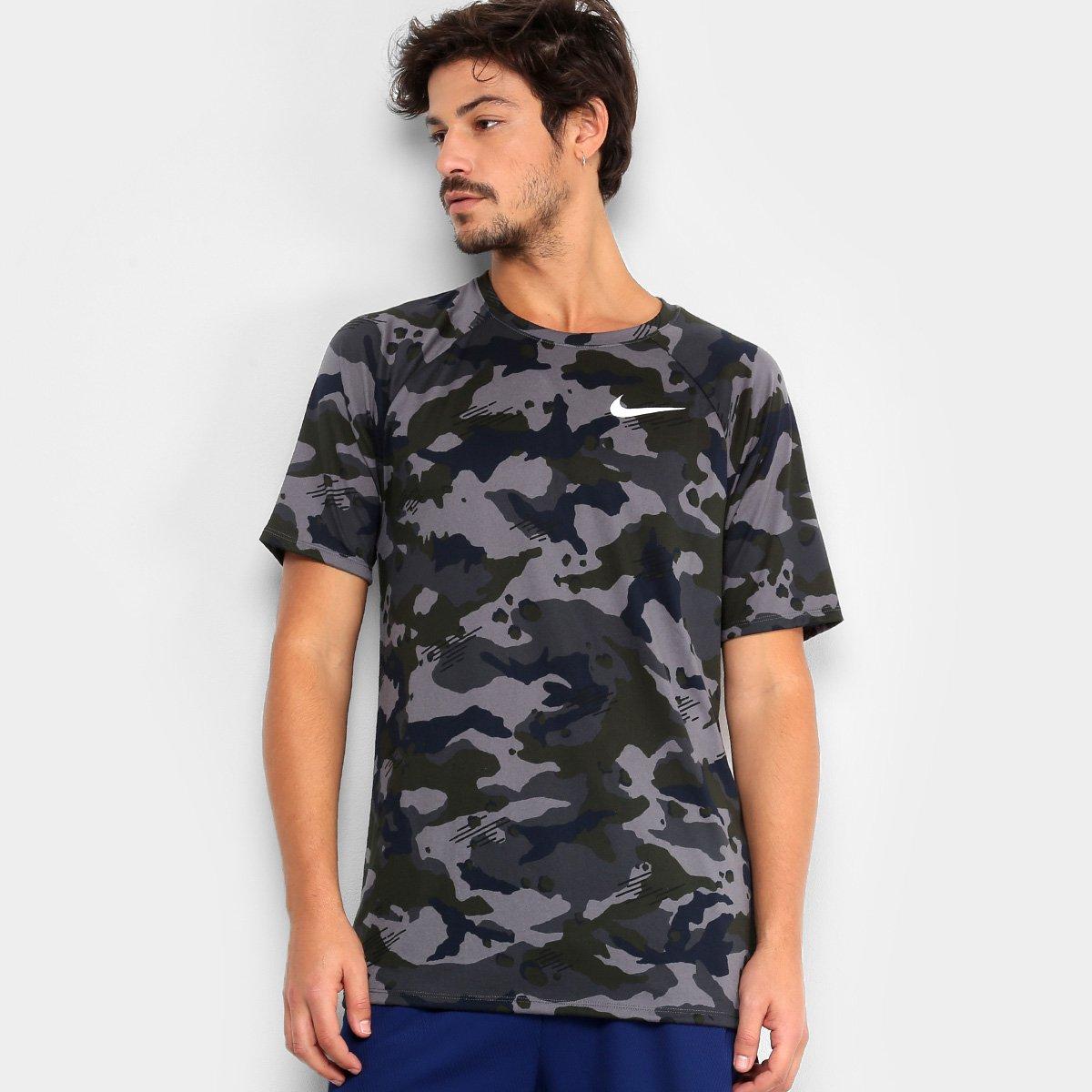 Camiseta Nike Dry Camuflada Masculina - Compre Agora  5a88ee453e2c2