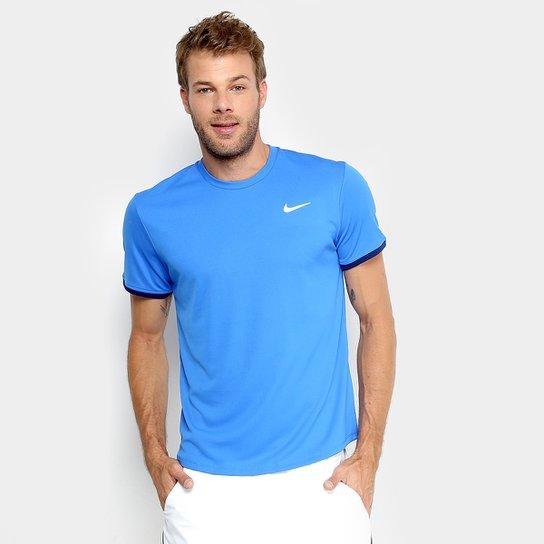Camiseta Nike Dry Top SS Masculina - Azul Royal