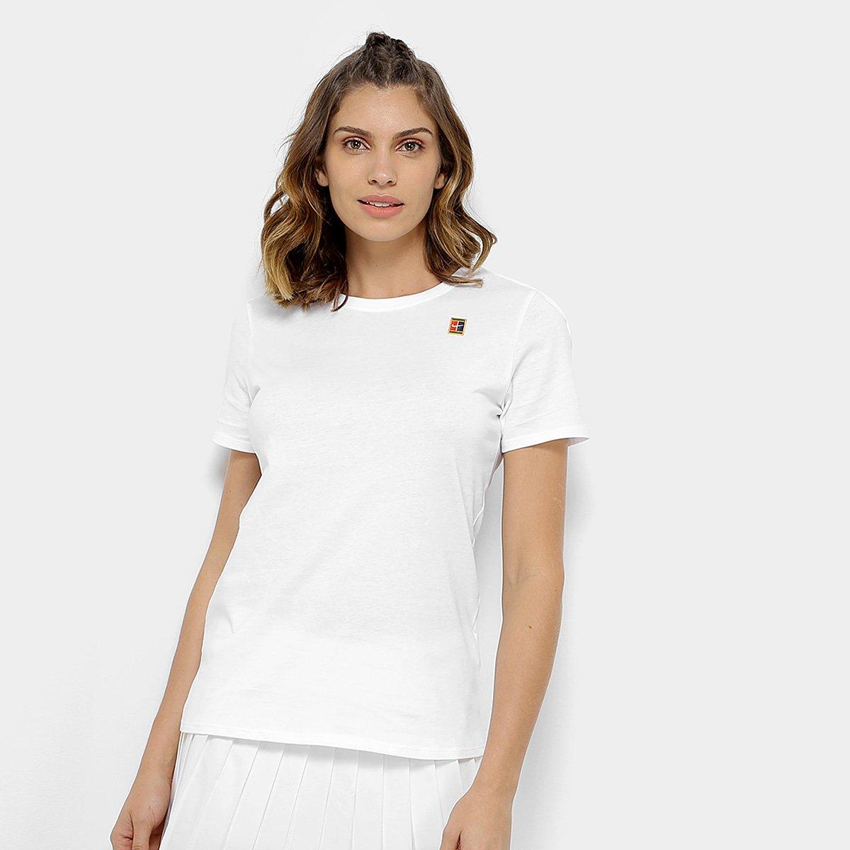 Camiseta Nike Heritage Feminina - Branco - Compre Agora  71a1e0840d5