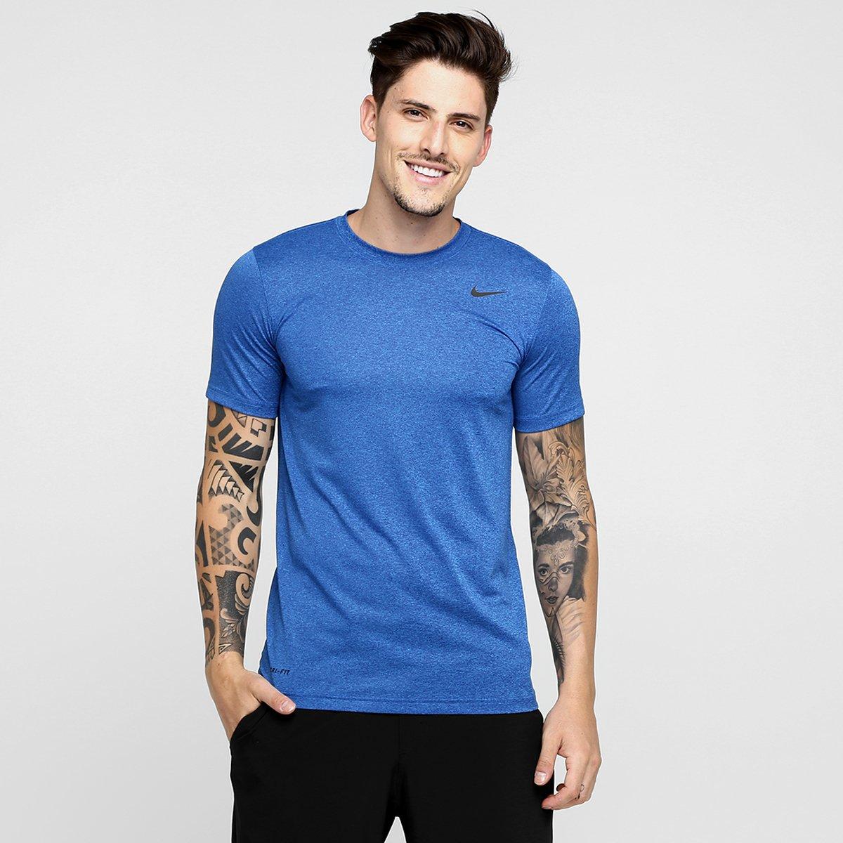75e5a0d710944 Camiseta Nike Legend 2.0 Ss Masculina - Azul - Compre Agora