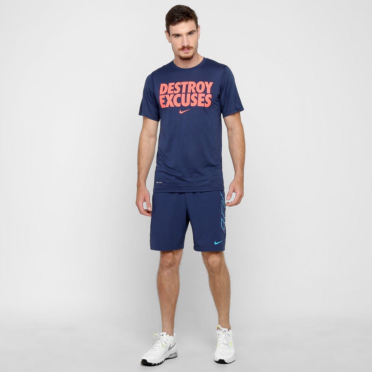 4616114e4e Camiseta Nike Legend Destroy Excuses - Compre Agora