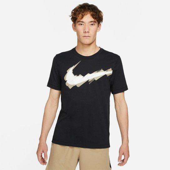 Camiseta Nike Logo Masculina - Preto