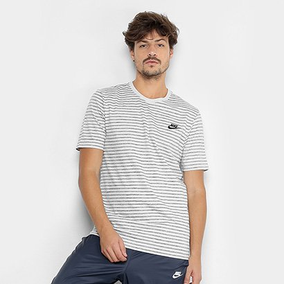Camiseta Nike M NSW Striped LBR 2 Masculina f40a6264ba219