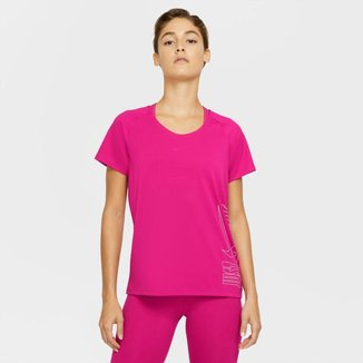 Camiseta Nike Miler Icon Clash Feminina