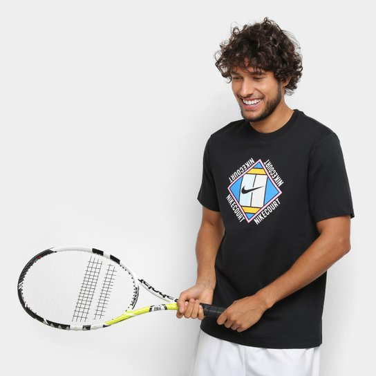 Camiseta Nike Nkct Tee Oz Gx Masculina - Preto