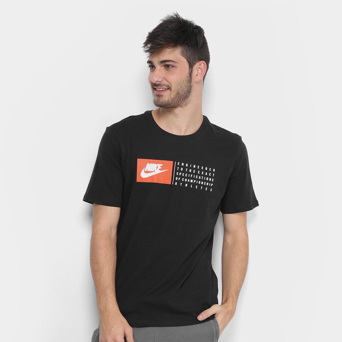 55a247e821afa Camiseta Nike Nsw Verbiage Masculina - Compre Agora