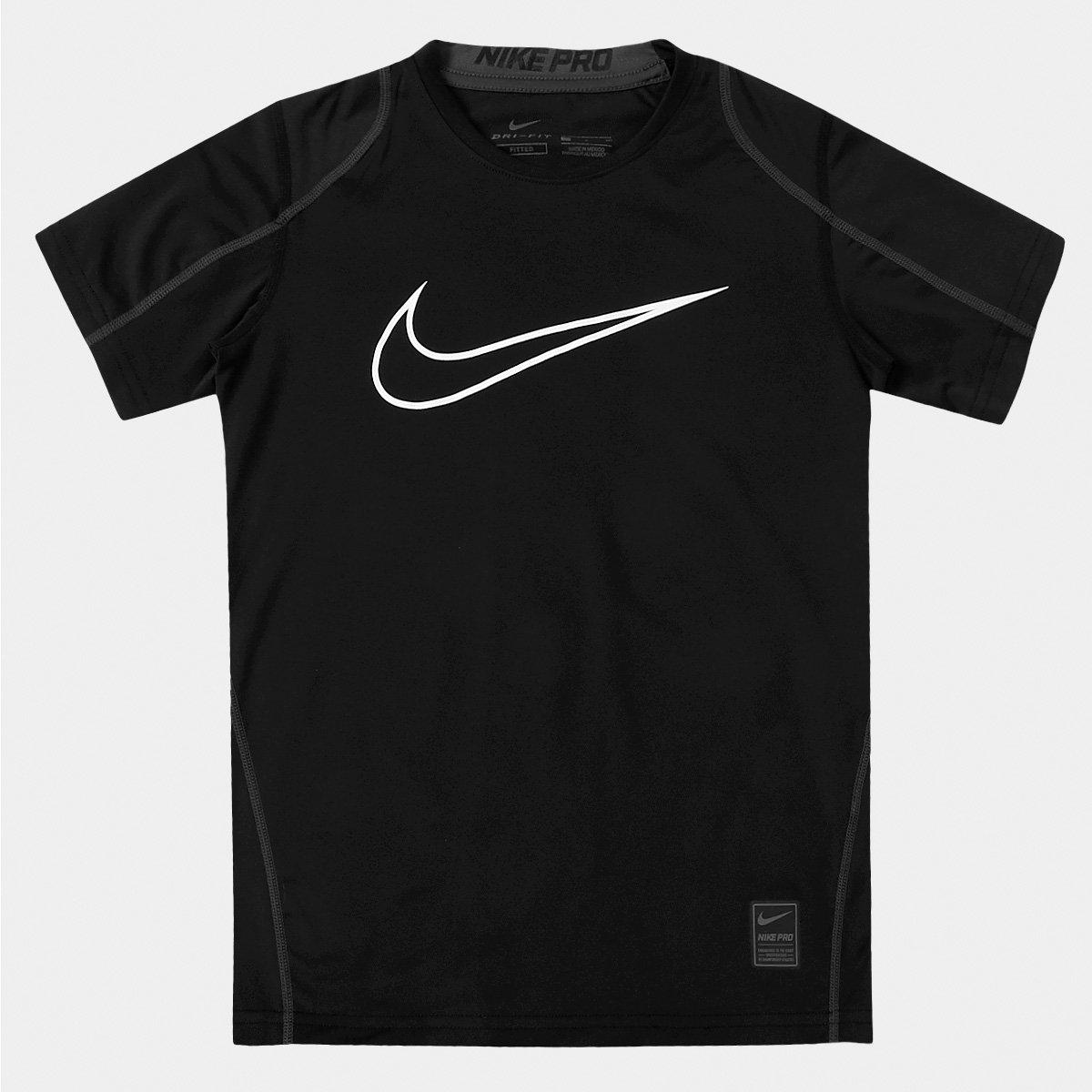 7ee5109c5ad19 Camiseta Nike Pro Cool HBR Fitted Infantil - Compre Agora