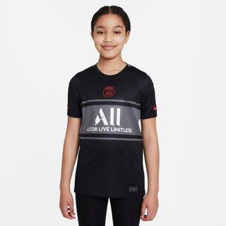 Camiseta Nike PSG III 2021/22 Torcedor Pro Infantil
