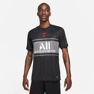 Camiseta Nike PSG III 2021/22 Torcedor Pro Masculina