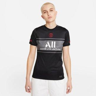 Camiseta Nike PSG III 2021/22 Torcedora Pro Feminina