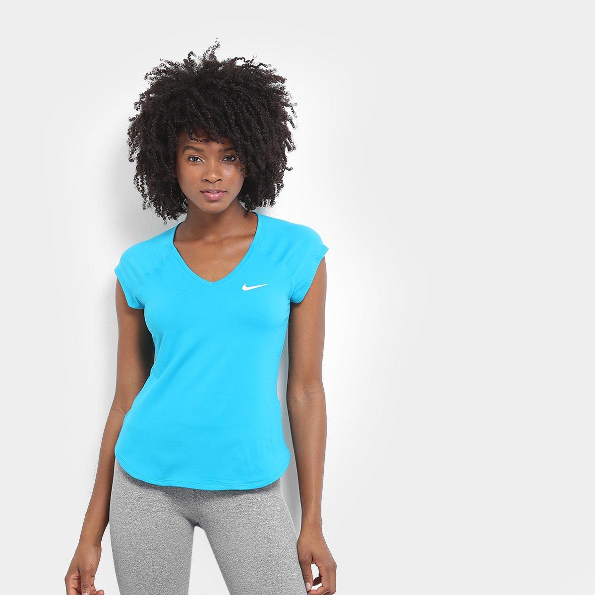 Camiseta Nike Camiseta Azul Feminina Pure Nike Royal BHrwqB