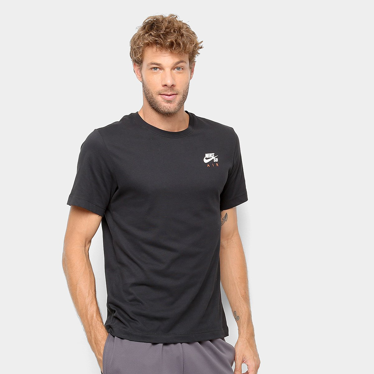 Capataz administración Infantil  Camiseta Nike SB Básica Estampada Dry Air Masculina | Netshoes