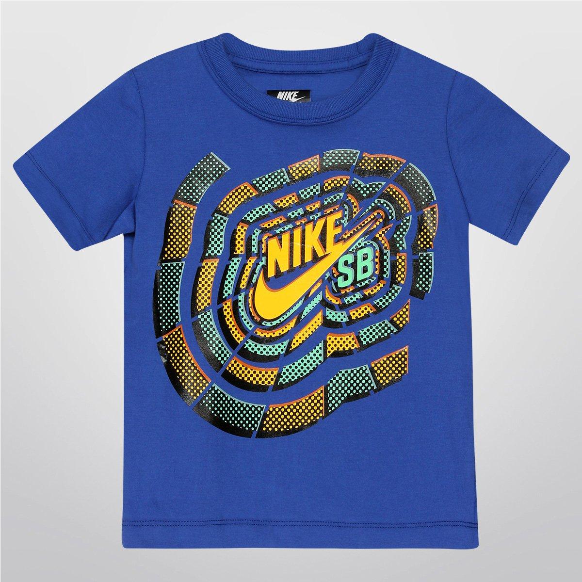 8c3870482c5eb Camiseta Nike SB Sunburst Tee Infantil - Compre Agora