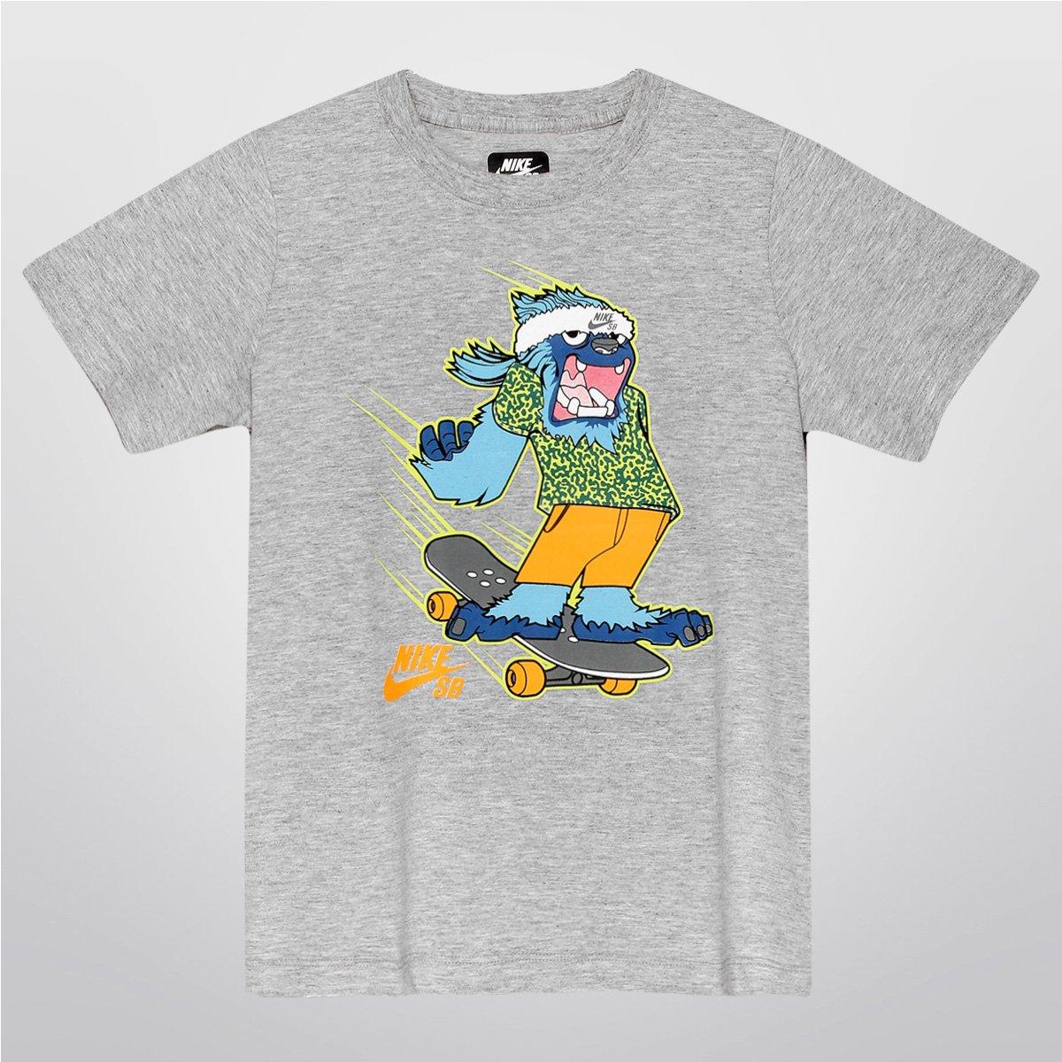 65fdb9491317b Camiseta Nike SB Yeti Infantil - Compre Agora