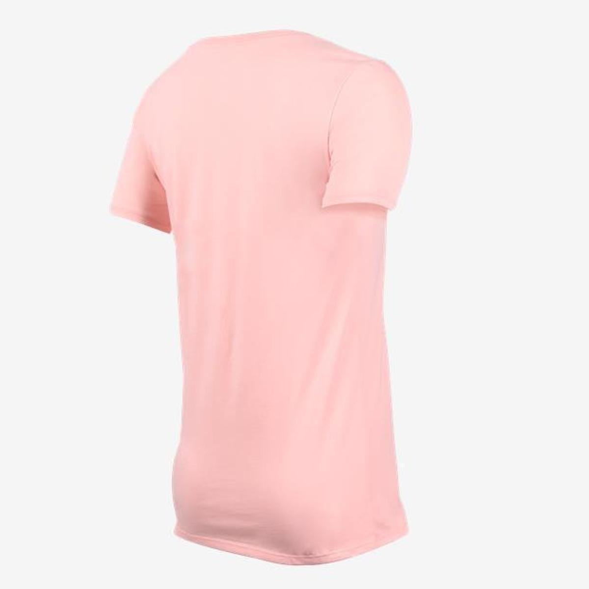Camiseta Camiseta Art Nike Nike Feminina Apla Rosa Scoop qUpTqRrw