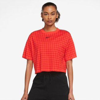 Camiseta Nike Sportswear Icon Clash Feminina