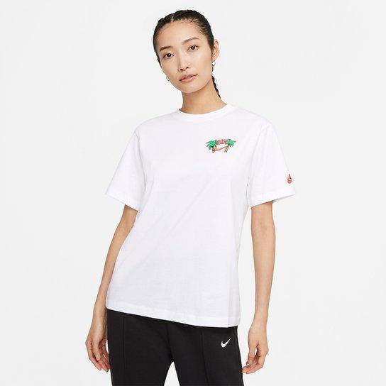 Camiseta Nike Sportswear Summer Feminina - Branco