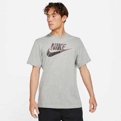 Camiseta Nike Sportwear Essential Blk Masculina