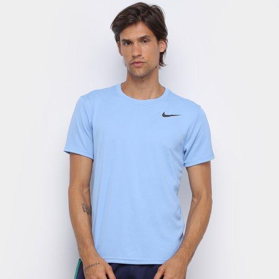 Camiseta Nike Superset Masculina - Azul+Preto