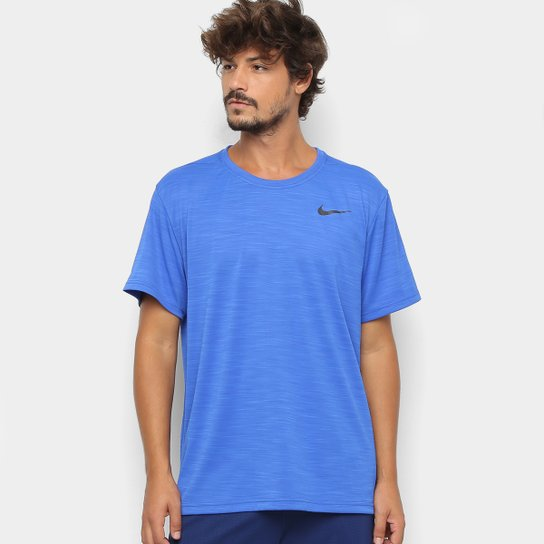 Camiseta Nike Superset Masculina - Azul Royal