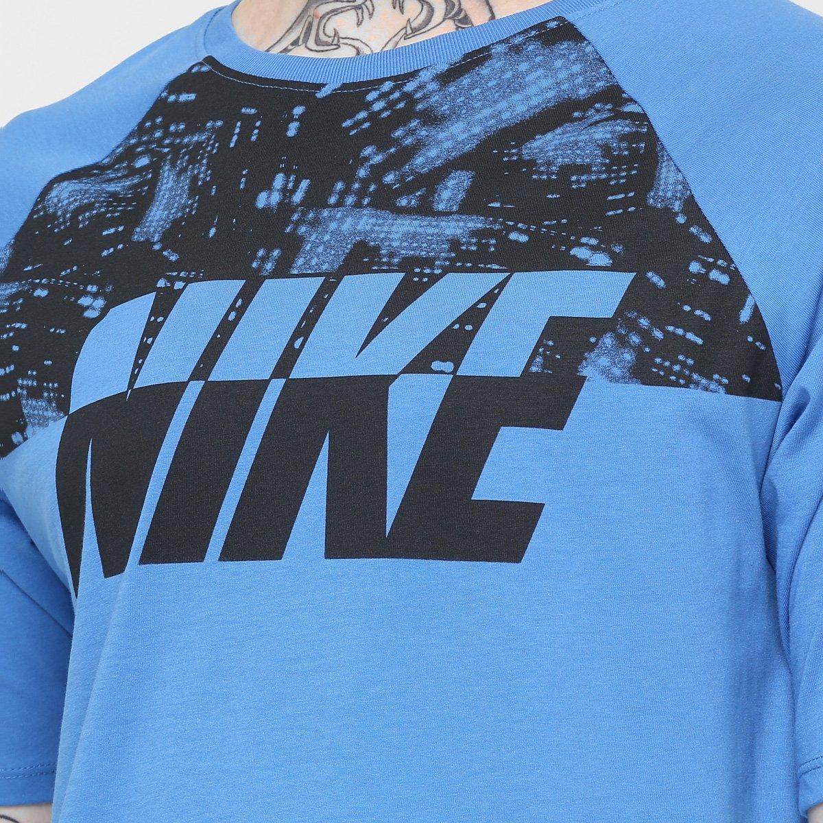 7847a0fccb Camiseta Nike Tee-City Lights Ss Raglan - Compre Agora