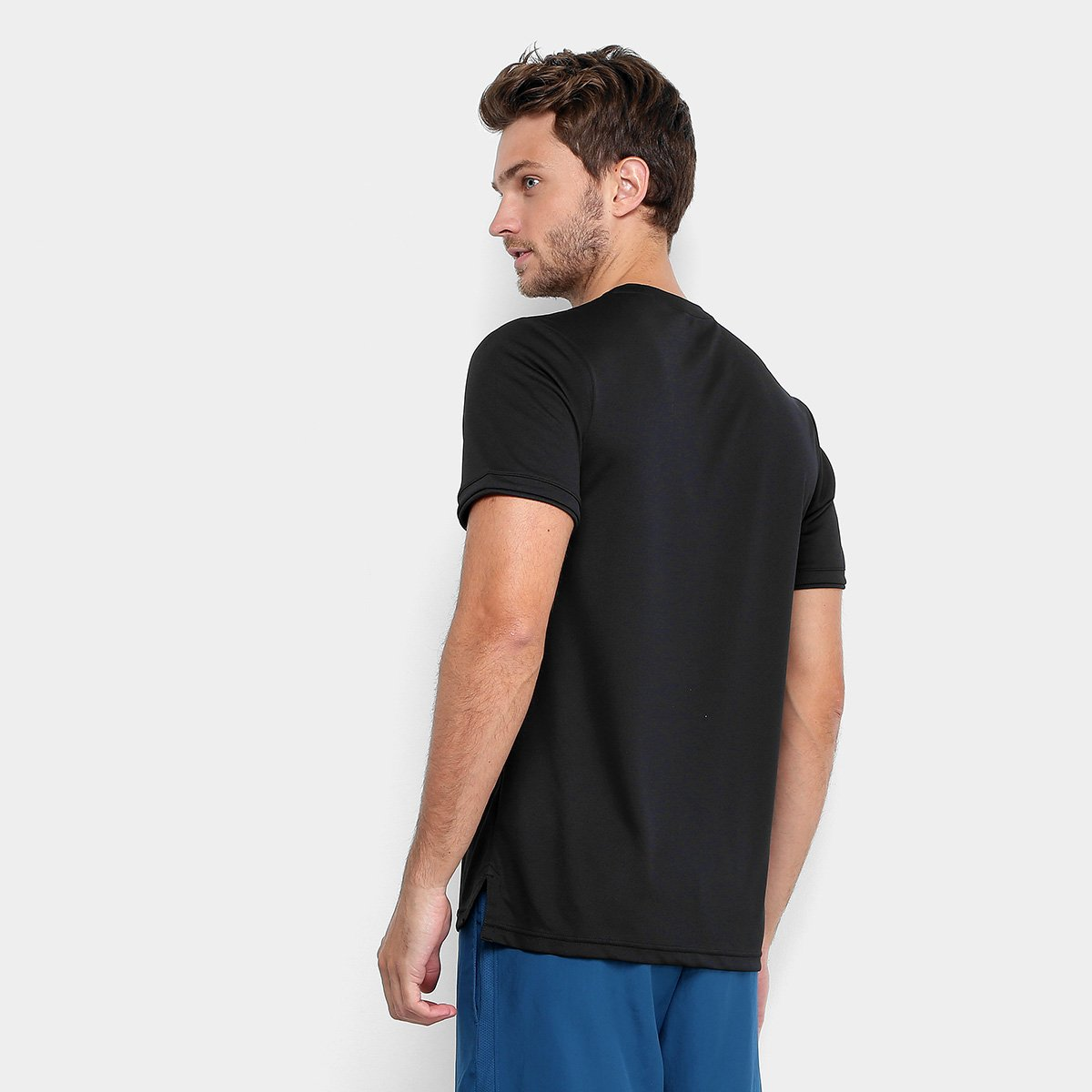 Camiseta Nike Top Team Masculina - Compre Agora  480cd1090aa5a