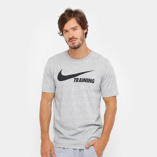 oveja garra evaporación  Camiseta Nike Training Swoosh Masculina | Netshoes