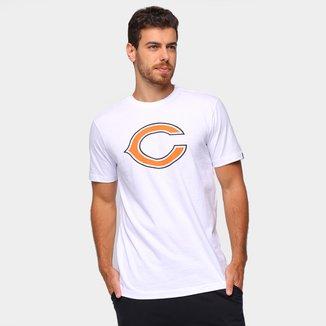 Camiseta NLF Chicago Bears New Era Basic Masculina