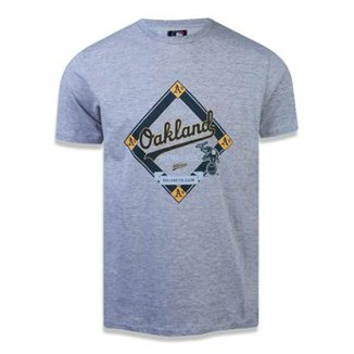 Camiseta Oakland Athletics MLB New Era Masculina