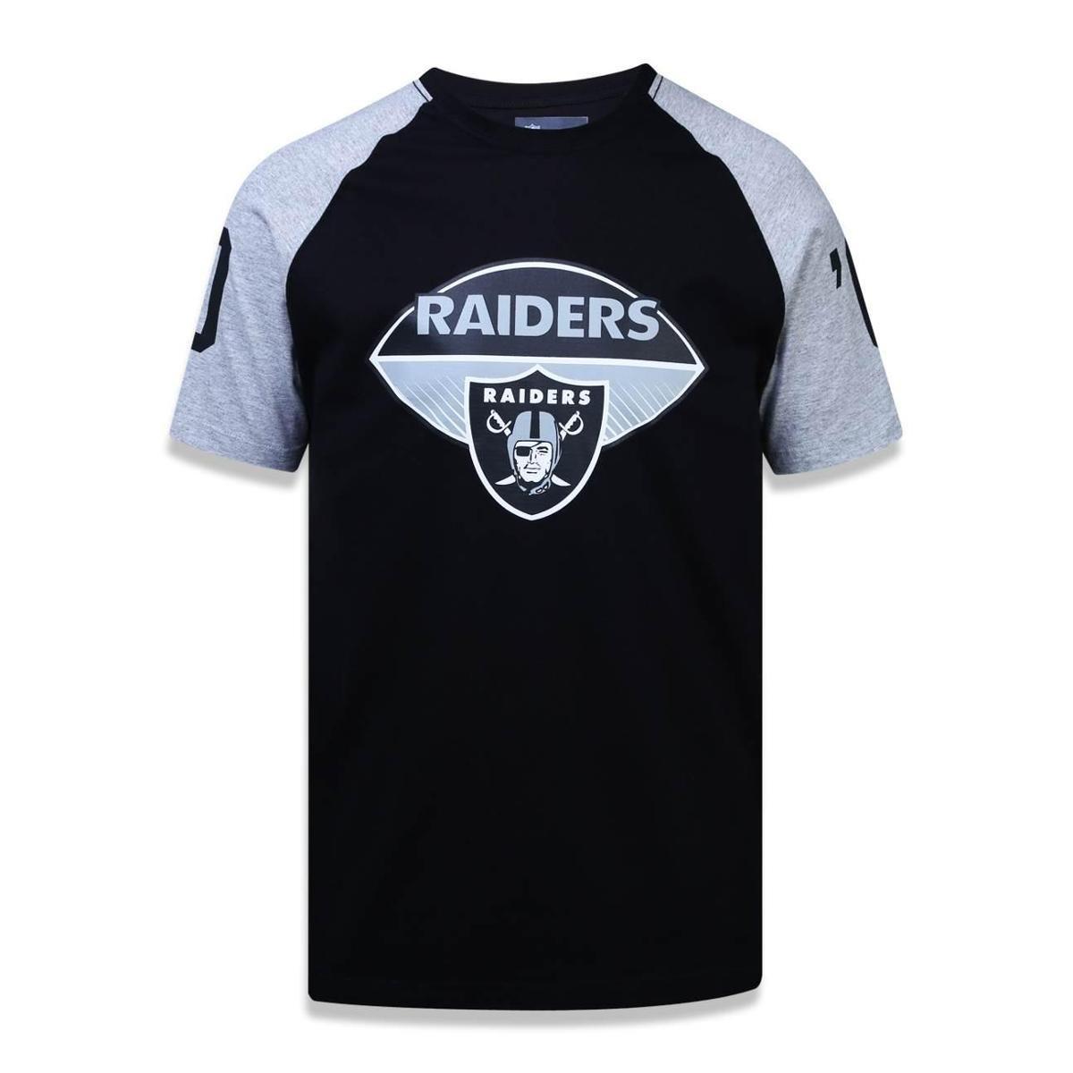 Camiseta Oakland Raiders NFL New Era Masculina - Compre Agora  f94f6dd2d74dd