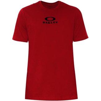 Camiseta Oakley Bark New Tee New Crimson