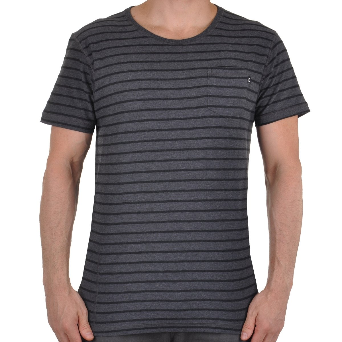 Camiseta Masculino Cold Oakley Chumbo Camiseta Striped Oakley 57qxtaX7