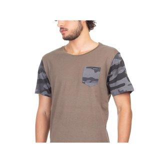 Camiseta Oakley Esp Omd Camo Masculino