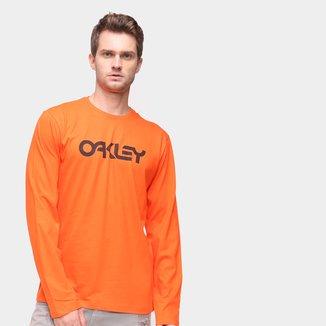 Camiseta Oakley Mark II LS Manga Longa Masculina
