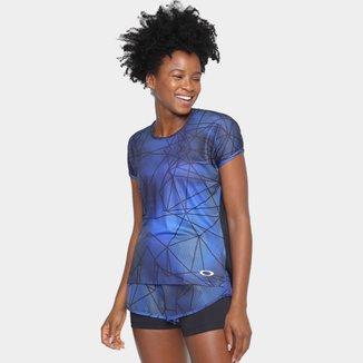 Camiseta Oakley Mod Blur Ss Feminina