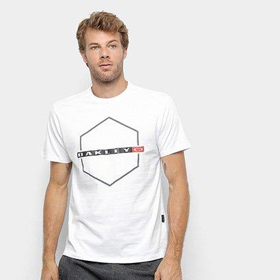 Camiseta Oakley Mod Crossing Hex Masculina