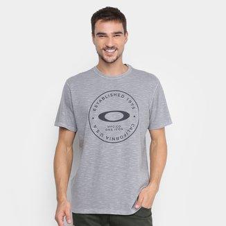 Camiseta Oakley Mod Fraction Whased Masculina