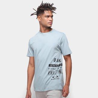 Camiseta Oakley Mod Global Tag T Masculina