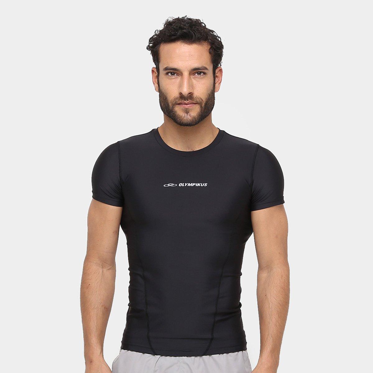 Camiseta Olympikus Compressão Masculina - Compre Agora  c8dd39db18a71