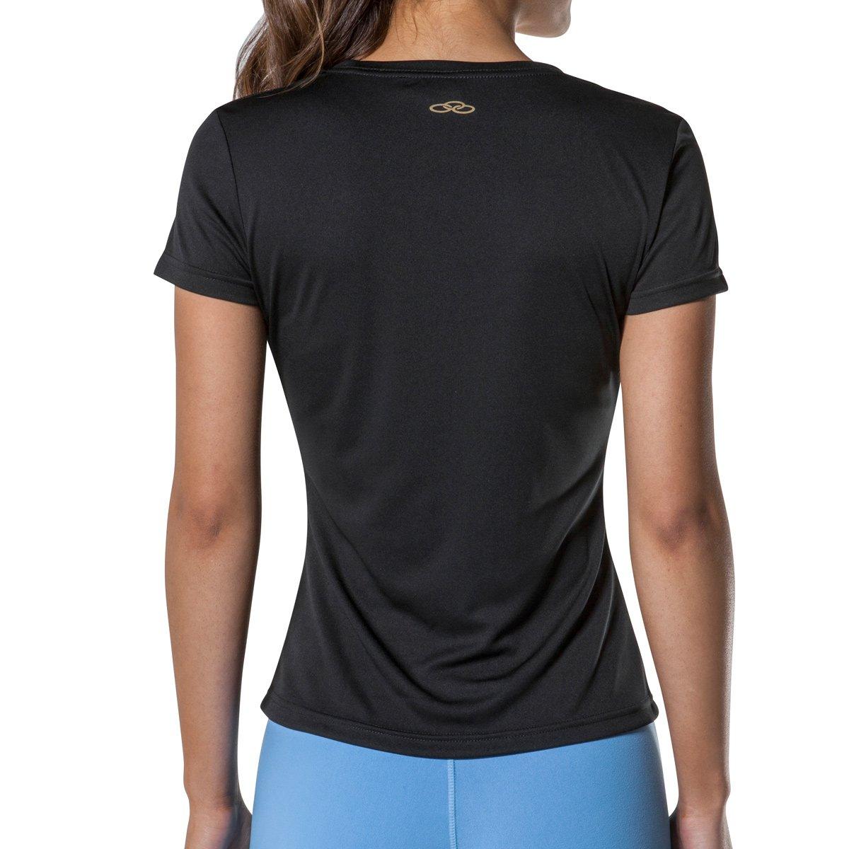 Camiseta Essential Olympikus Feminina Preto Action Dry Camiseta Olympikus UxqpwUTP