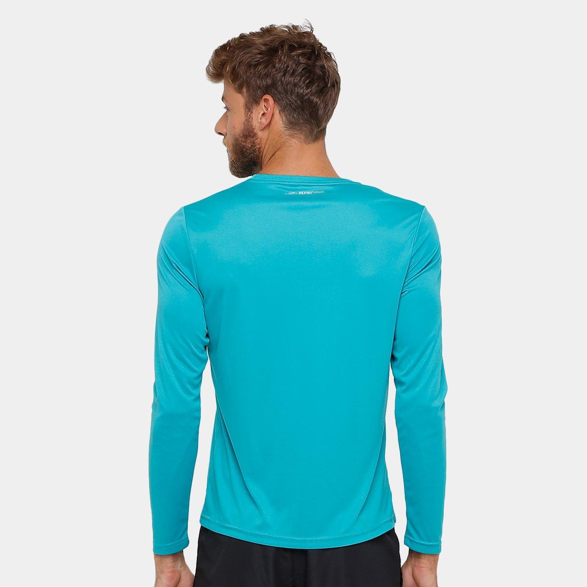 ... Camiseta Olympikus Essential Proteção UV 50+ Manga Longa Masculina ... e7456fcdffa14