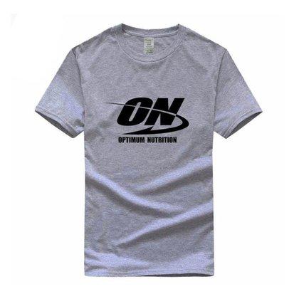 Camiseta ON Optimum Nutrition Fitness e Musculação - M -