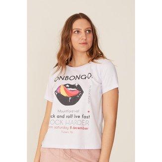 Camiseta Onbongo Feminina Estampada Feminino