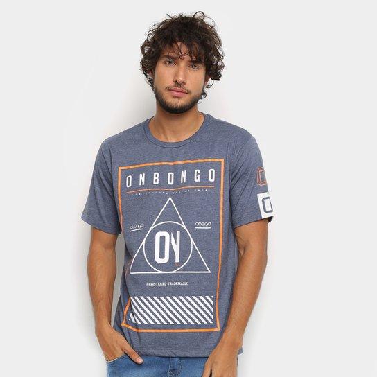 Camiseta Onbongo On Masculina - Marinho