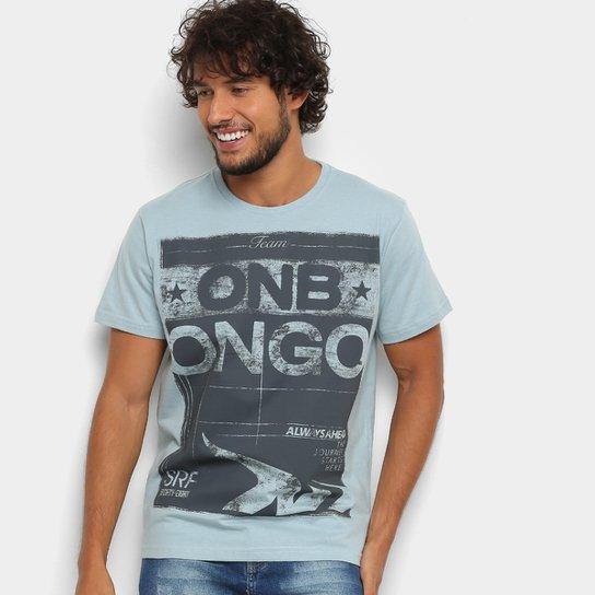 Camiseta Onbongo Team Masculina - Azul