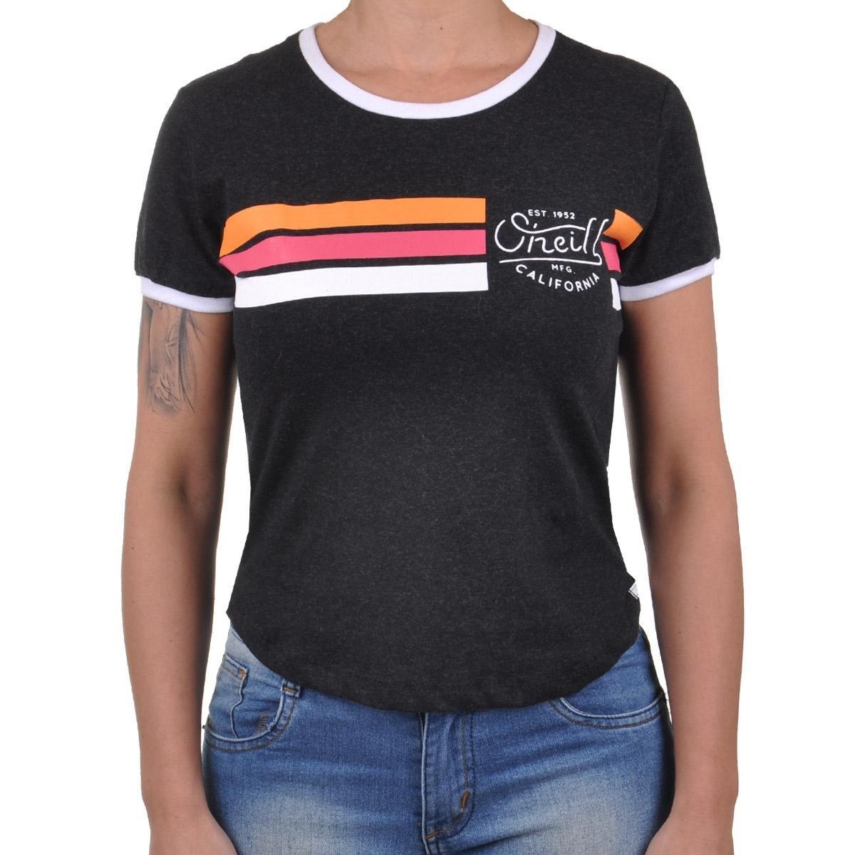 Camiseta Gooddays Oneill Camiseta Oneill Preto Feminino Gooddays EvqUSwF