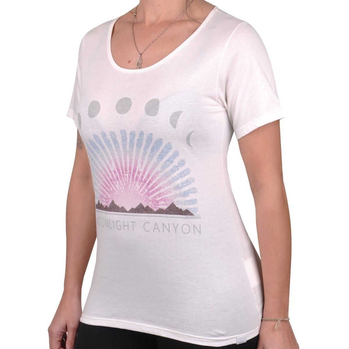 Palm Pretty Feminina Camiseta O'neill Camiseta Palm Branco Feminina O'neill Pretty rrfxYq0