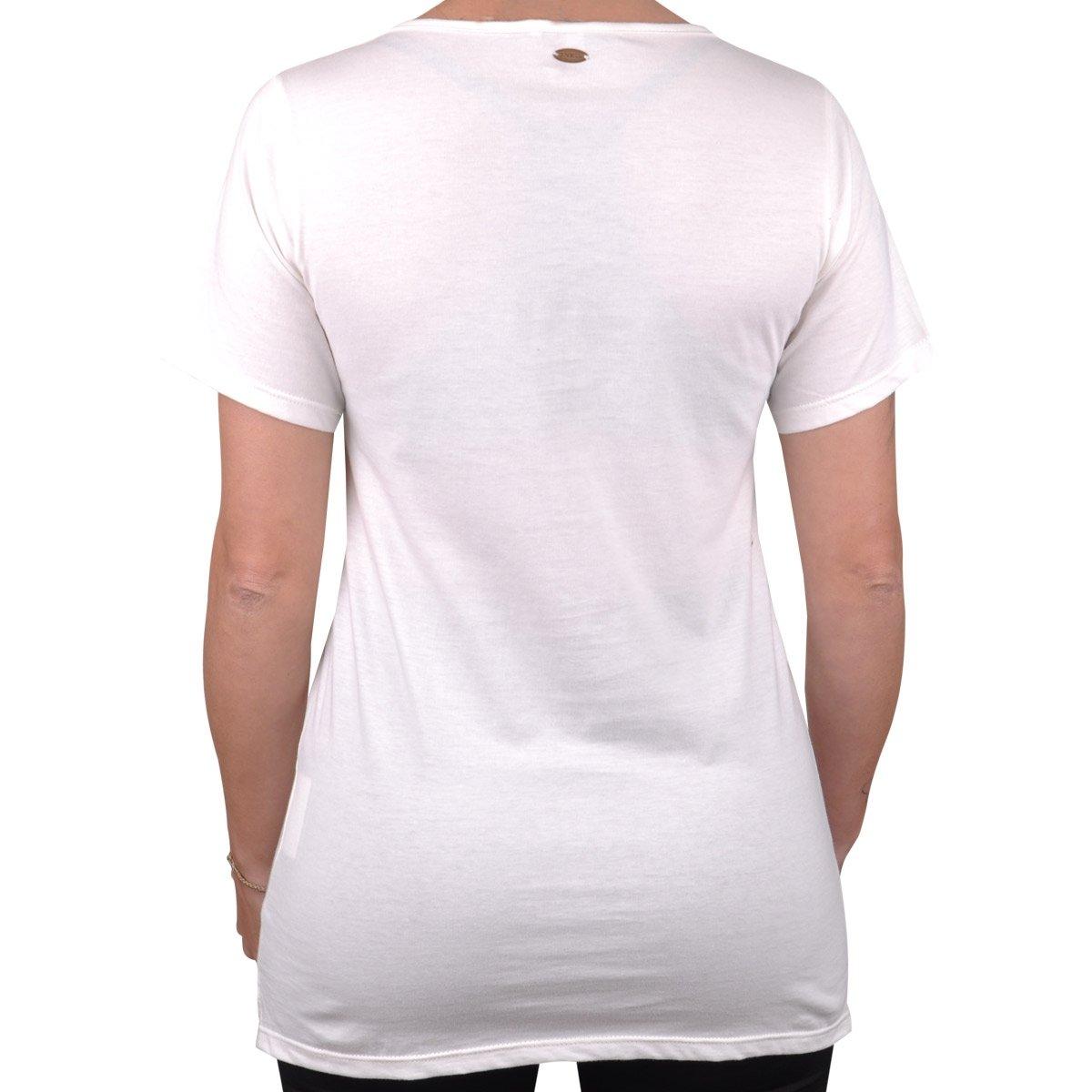 Branco Camiseta Camiseta Feminina O'neill Palm O'neill Pretty Palm Pretty U68w7qUn