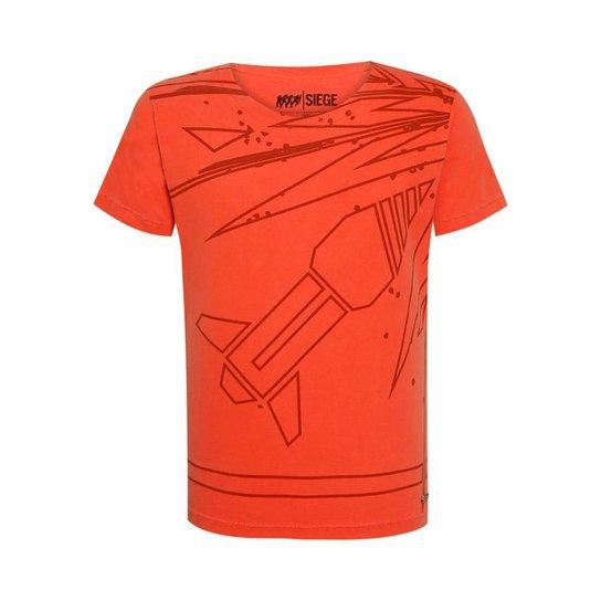 Camiseta Operadora Ash R6 Siege Ubisoft - Laranja